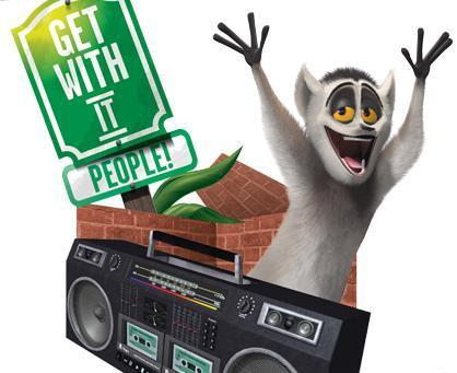 King Julien: Get With It!