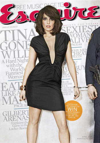 Tina Fey in Esquire - April 2010