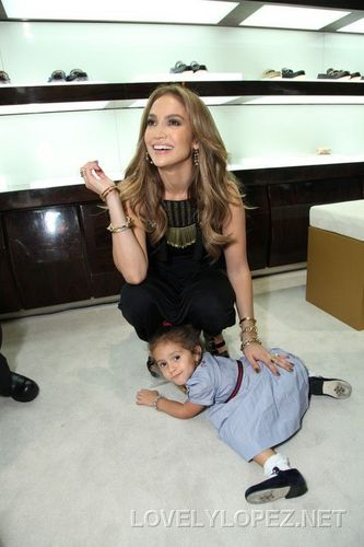 Gucci And Jennifer Lopez Celebrate Gucci Children's Collection