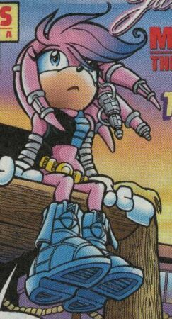 Julie-Su in the Chaotix