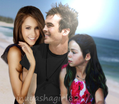 Damon/Elena & daughter delena