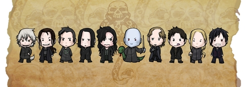 Death eaters ちび :d xD
