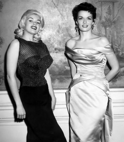 Jane Russell and Jayne Mansfield