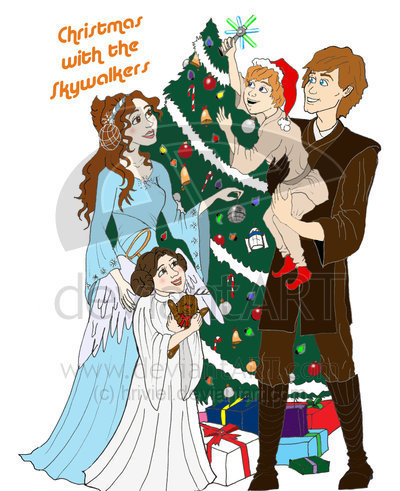 Merry Christmas-The Skywalkers