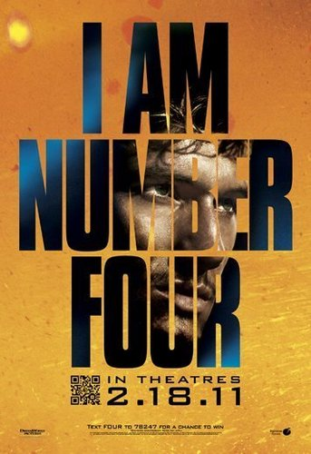 New I AM NUMBER FOUR poster!!