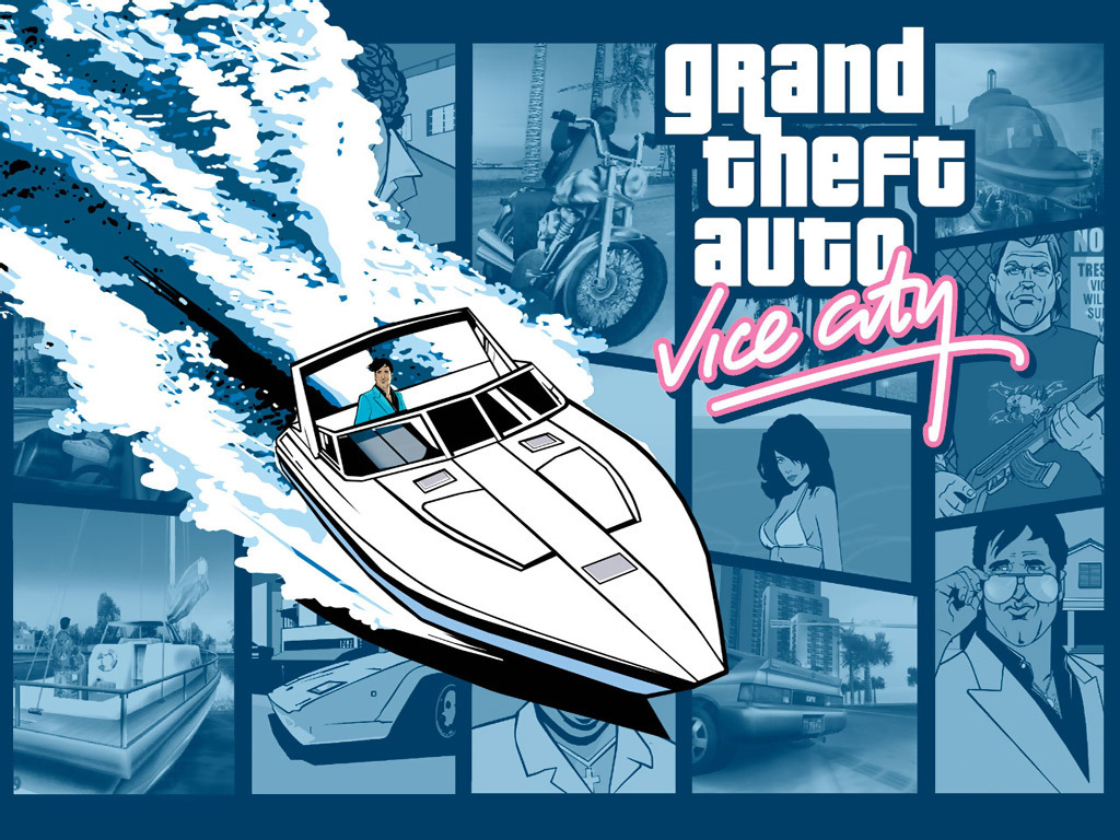 Gta Vice City Grand Theft Auto 壁紙 17465057 ファンポップ