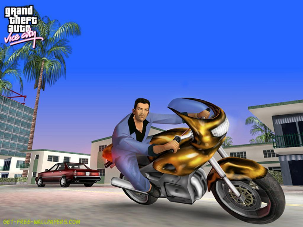 Gta Vice City Grand Theft Auto Wallpaper 17465065 Fanpop