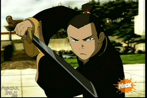 Sokka... the sword guy.