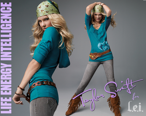 Taylor nhanh, swift - Photoshoot #043: LEI Jeans (2008)