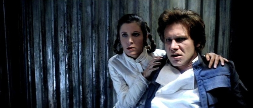 Leia and Han Solo
