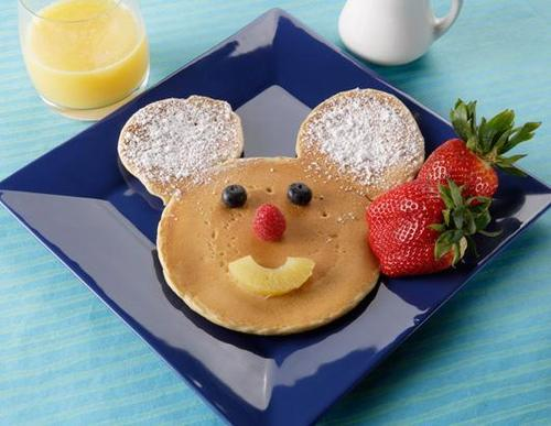 Mickey shaped yummies :d