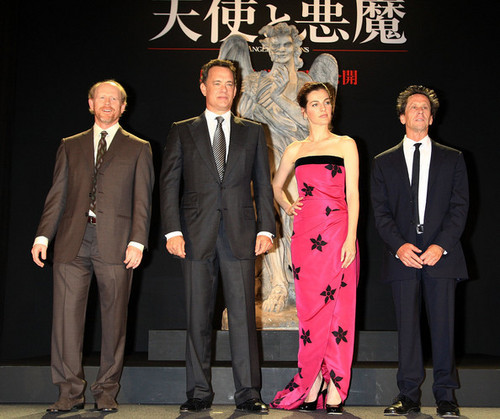 """Angels & Demons"" jepang Premiere"