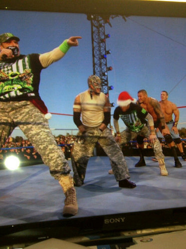 DX-Tribute to the Troops 2010