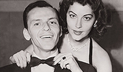 Frank Sinatra and Ava Gardner, shortly after their wedding