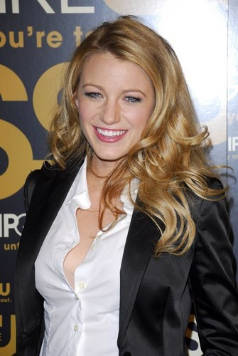 Blake at the Gossip girl 2007 premiere