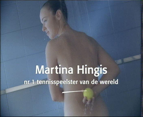 Martina Hingis naked