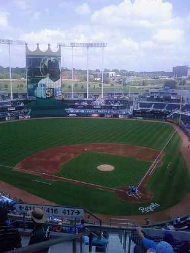 The K- home of the KC Royals