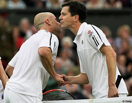 Ciuman with Andre Agassi