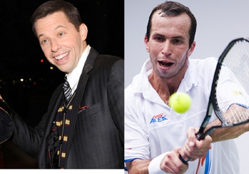radek stepanek and his twin