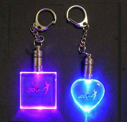 Glowing Keychains