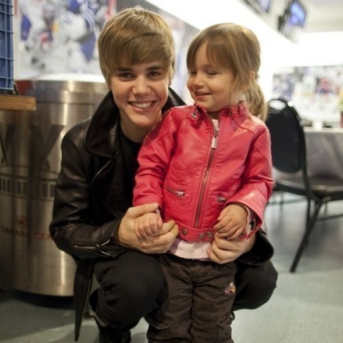 Justin spending time with Jazzy
