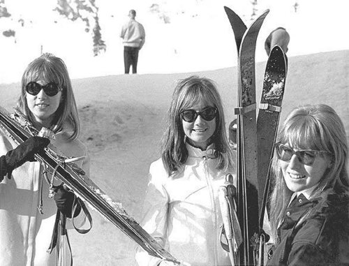 Pattie, Sonny Freeman and Cynthia in Austria.