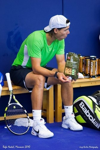 Poor Rafa: Public has allowed to eat only ad products!