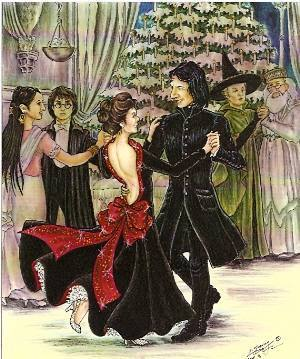 "Severus Snape Says ""Care To Dance Dear Sunny* ?"