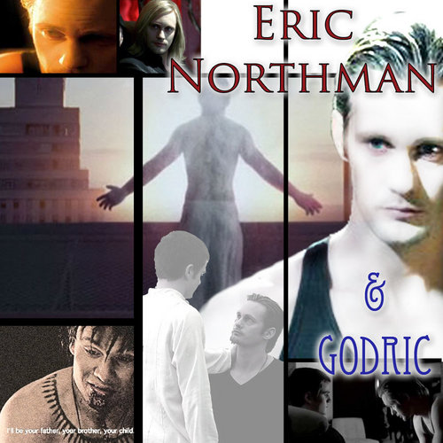 True Blood Eric and Godric <3