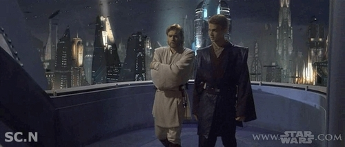 obi-wan kenobi and Anakin skywalker