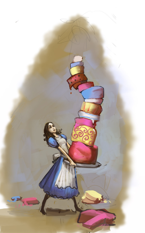 Alice Madness Returns Walkthrough Chapter 2 alice cake - american mcgee's alice photo (17890375) - fanpop