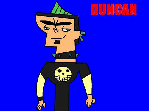 my drawing of Duncan