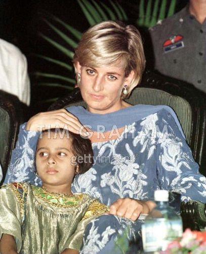 Diana And Child Lahore