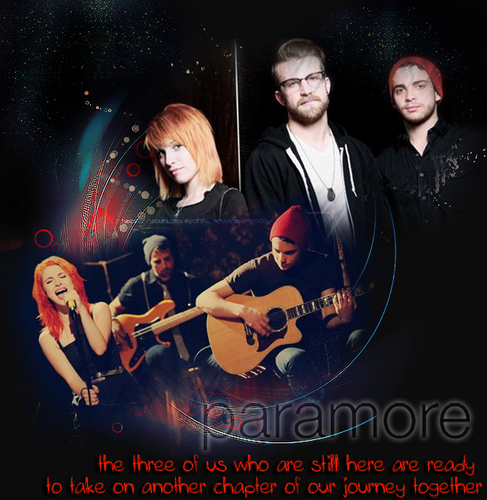 Paramore-The three of them!!