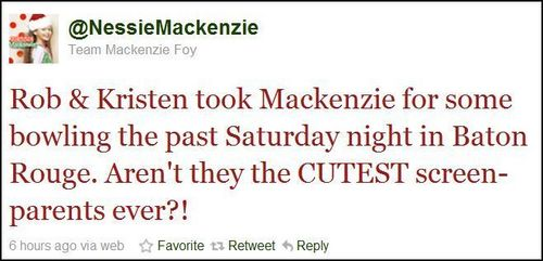 Rob & Kristen took Mackenzie bowling on Dec. 18 in Baton Rouge