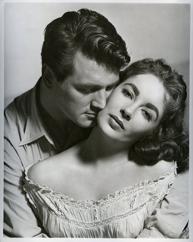 Rock Hudson and Elizabeth Taylor - Giant