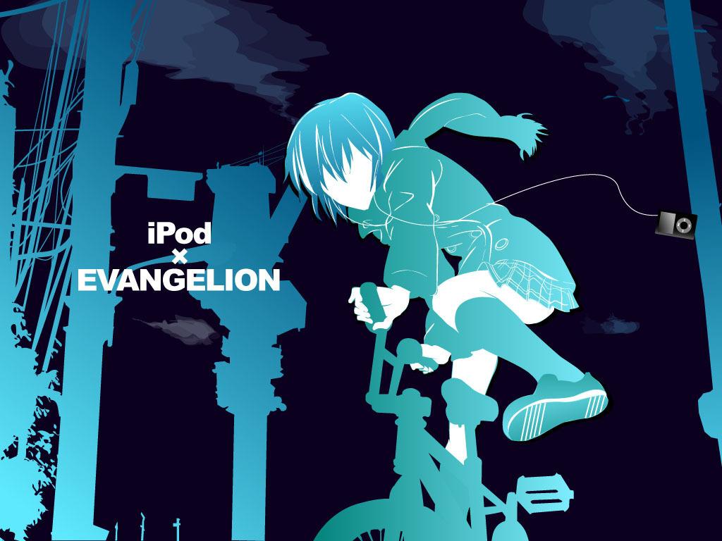Ipodの Ipod Theme Evangelion 壁紙 17915105 ファンポップ