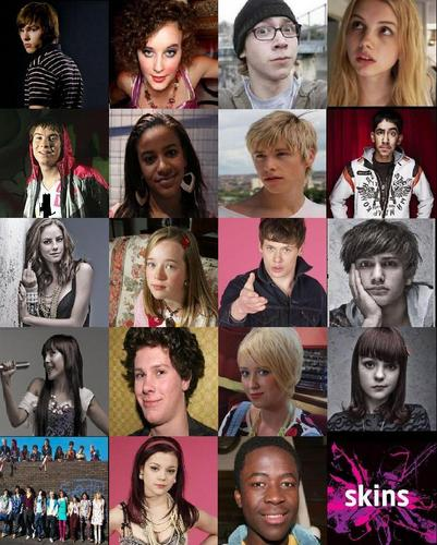 Skins characters