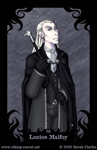 Death Eater Cards: Lucius Malfoy