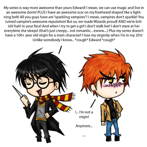 Harry Potter vs Edward Cullen