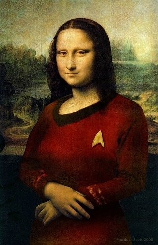 Mona Lisa Red कमीज, शर्ट