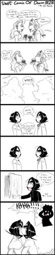 Snape comic- Short comic of Doom 28 xD