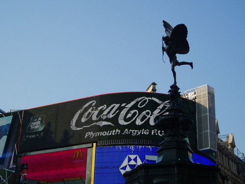 eros and Coca cola