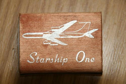 starship one matchbox