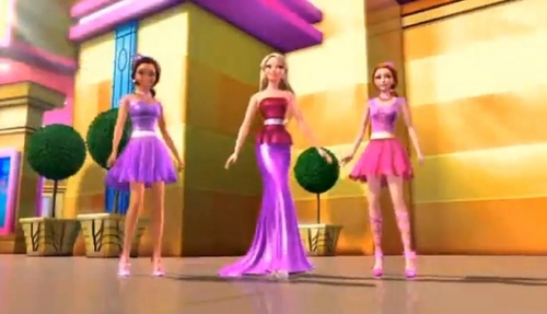 Barbie,Taylor and Carrie