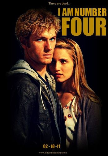I AM NUMBER FOUR fan poster:)