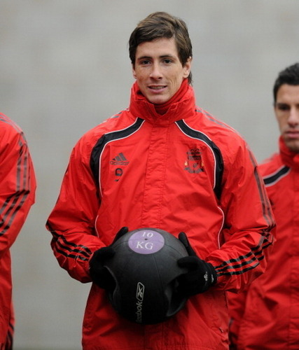 Nando - Liverpool Training