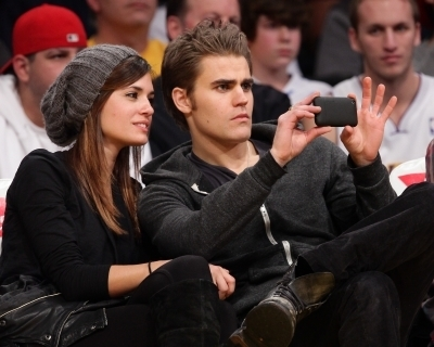 Paul & Torrey @ LA Laker's Game
