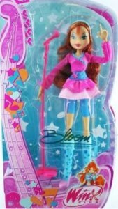 Winx Club Bloom doll in コンサート