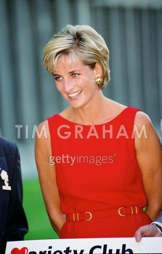 Diana, Princess of Wales at Northwick Park